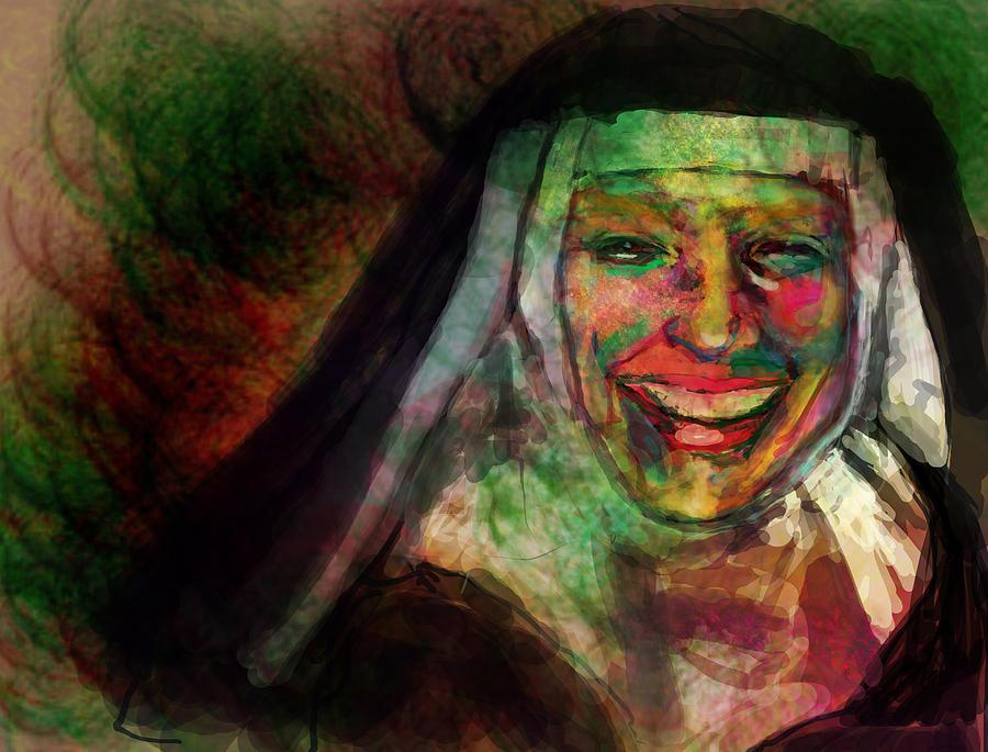 Bride Of Christ Digital Art - Happy Sister by James Thomas