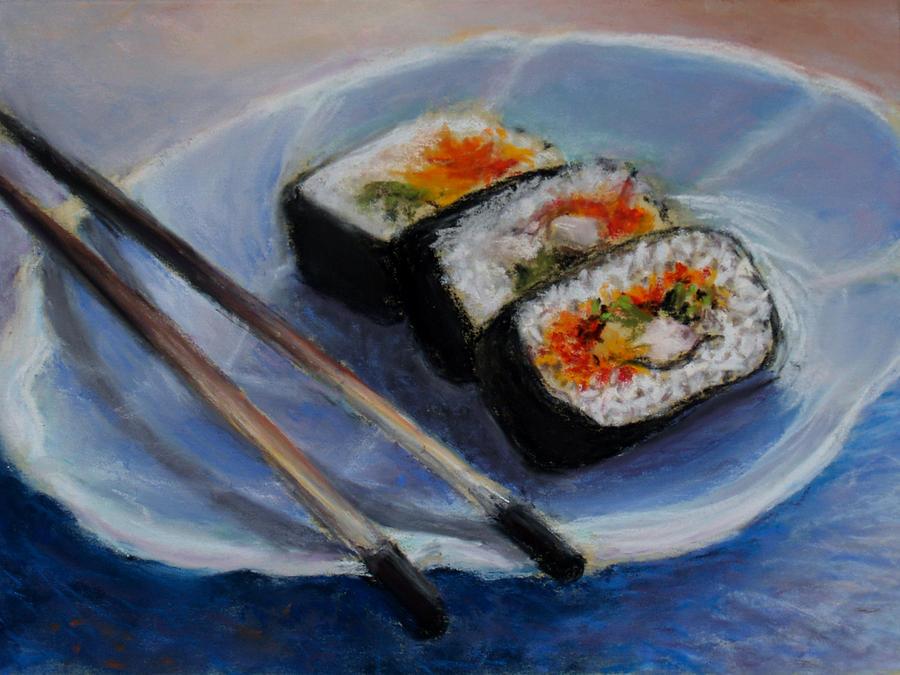 оказалось, суши рисунки красками предлагает вам информацию
