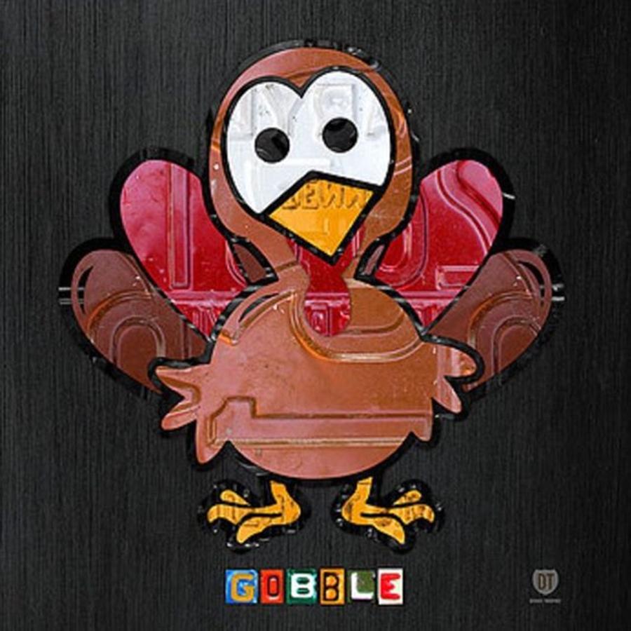Turkey Photograph - Happy Thanksgiving!  #turkey by Design Turnpike
