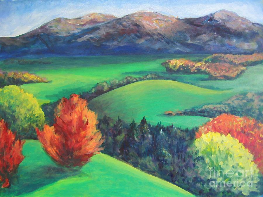 Happy Valley Painting - Happy Valley by Lyn Vic