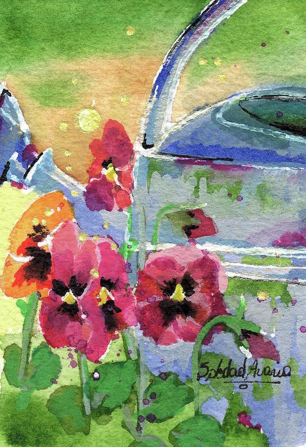 Happy Violas by Sole Avaria