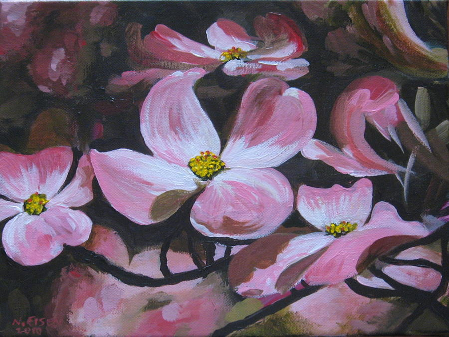 Outre Art Painting - Harbinger Of Spring by Outre Art  Natalie Eisen