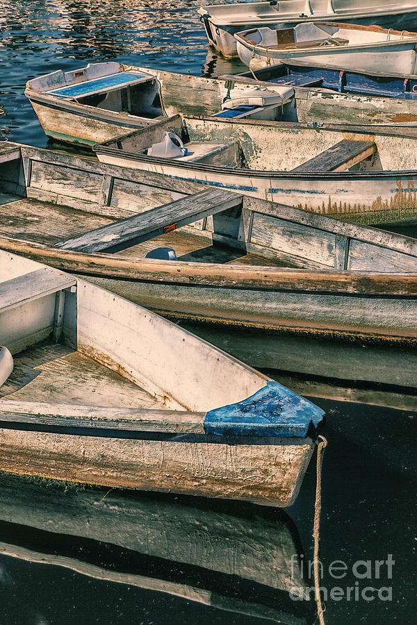 Harbor Boats by Timothy Johnson