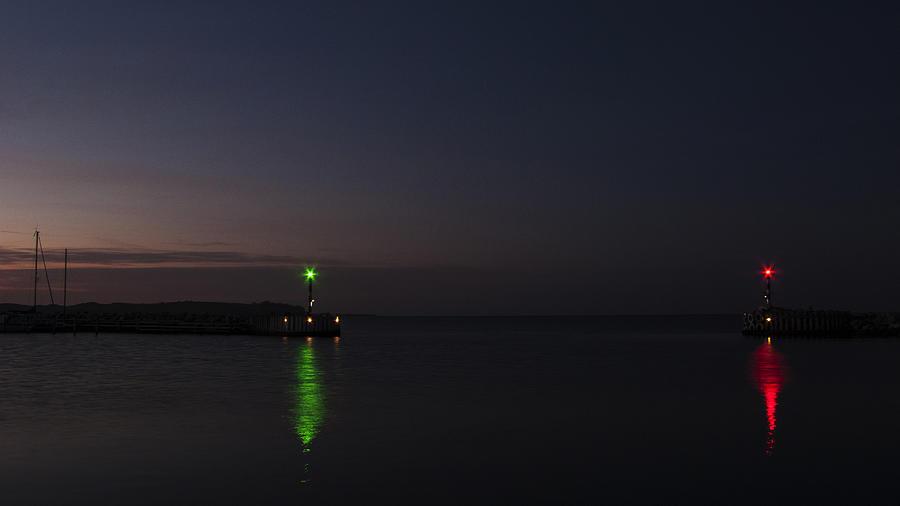 Harbor Photograph - Harbor Evening by Kim Lessel