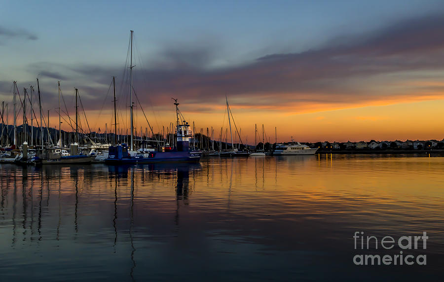 Harbor Light by Paul Gillham