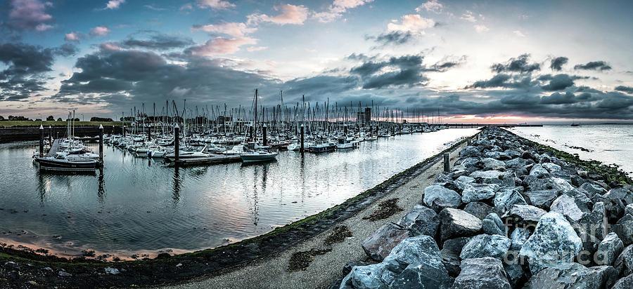 Harbor Of Breskens Photograph