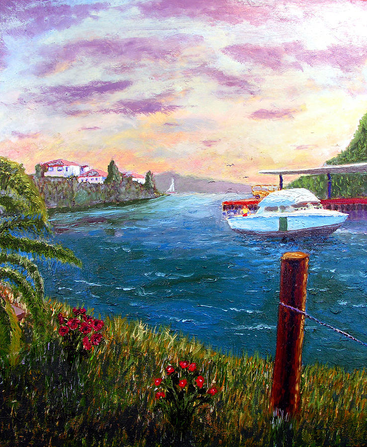 Harbor Painting - Harbor by Stan Hamilton