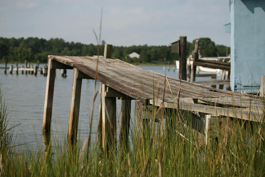 Dock Photograph - Harborton Dock by Karen Fowler