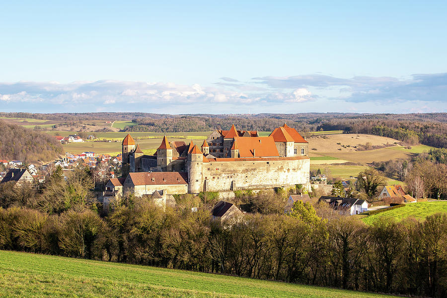 Harburg Castle Photograph