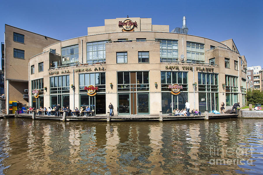 Age Photograph - Hard Rock Cafe In Amsterdam by Andre Goncalves