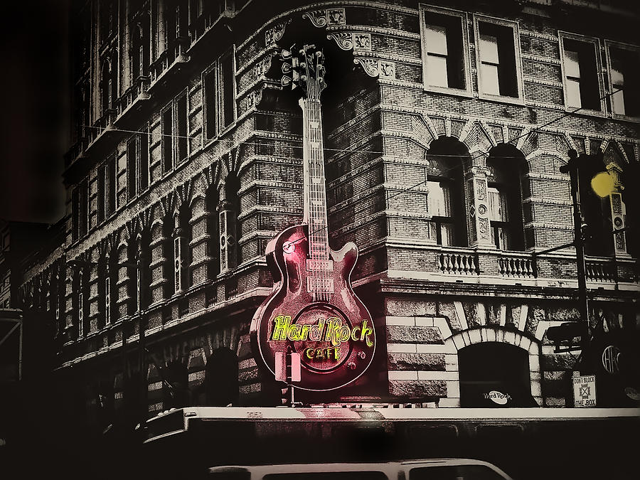 Philadelphia Photograph - Hard Rock Philly by Bill Cannon