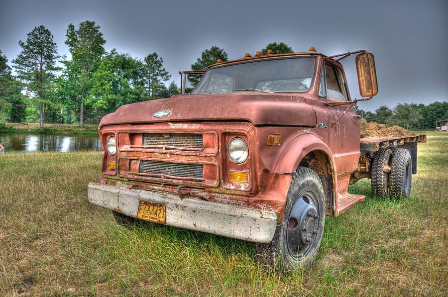 Farm Truck Photograph - Hard Working Farm Truck by Rod Cuellar