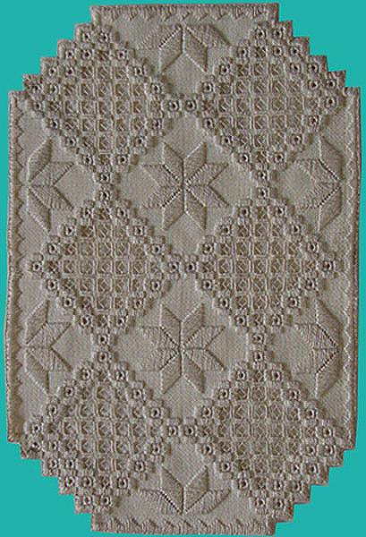 Hardanger Tapestry - Textile - Hardanger - 1 by Shirley Heyn