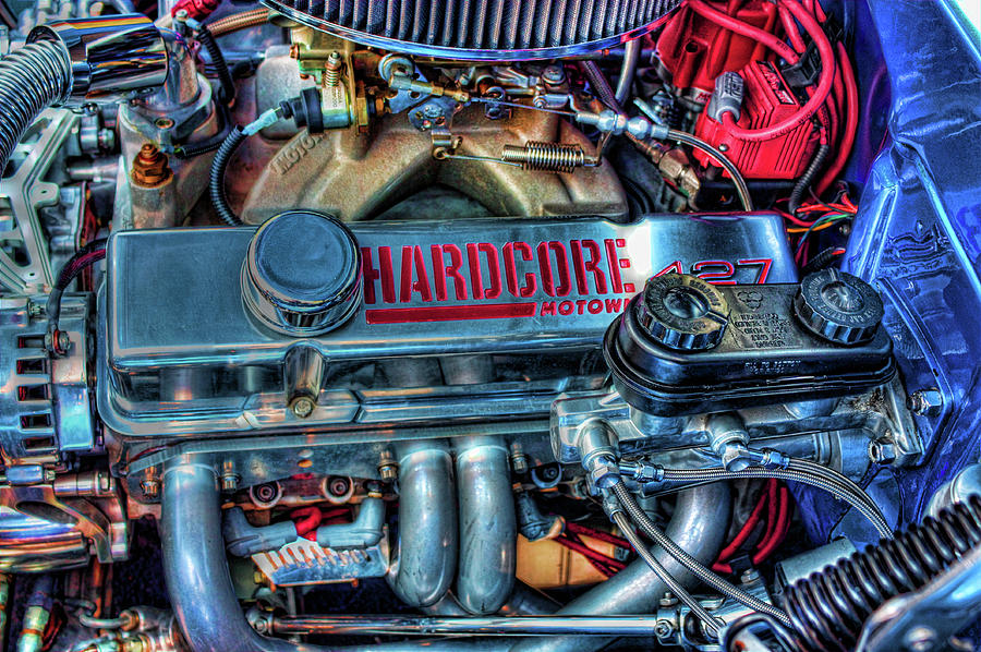 Motors Photograph - Hardcore by Joetta West