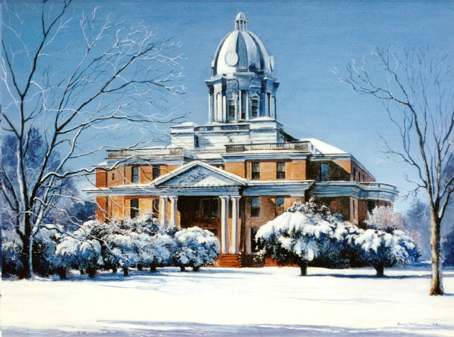 Hardin County Courthouse by Randy Welborn
