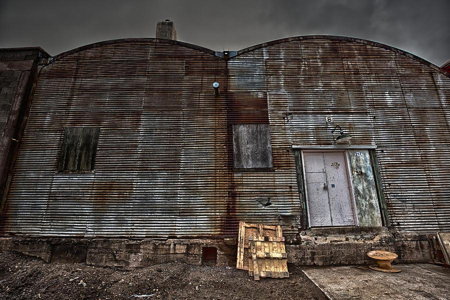 Abandoned Photograph - Hardisty Street Warehouse by Jakub Sisak