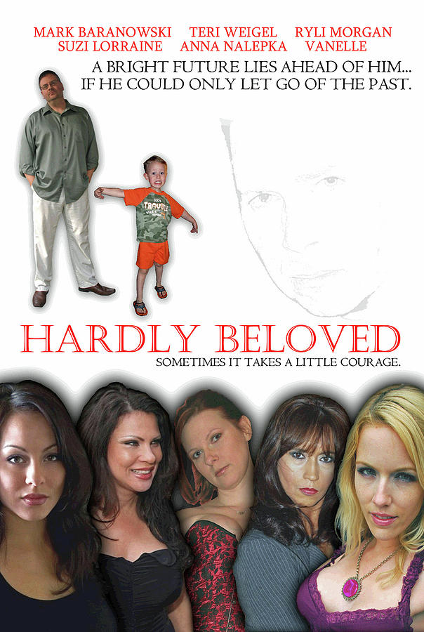 Hardly Beloved Poster Digital Art by Mark Baranowski
