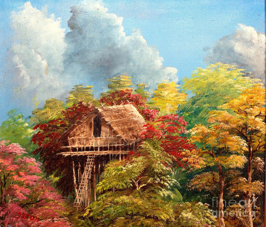 Landscape Painting - Hariet by Jason Sentuf