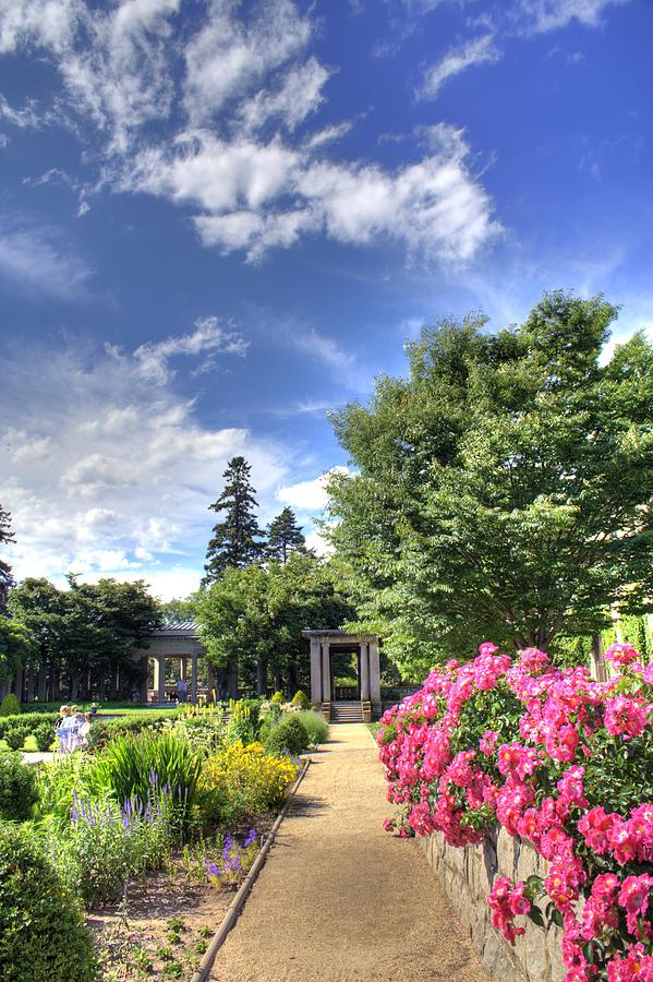 Harkness State Park Gardens Photograph by Sam Turgeon