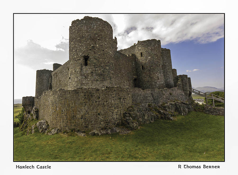 Harlech Castle Photograph by R Thomas Berner