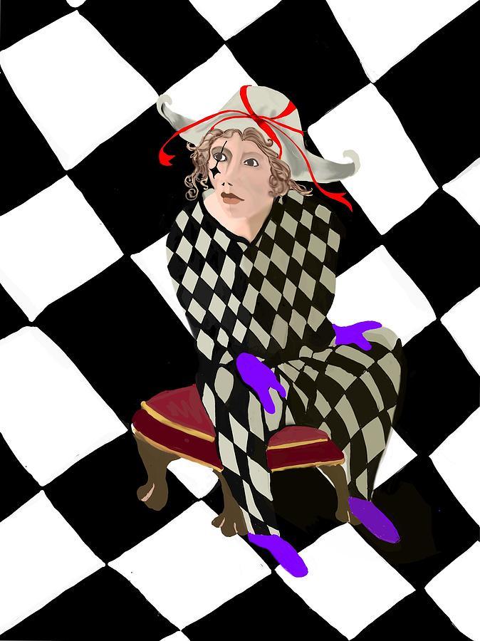 Harlequin by Gerry Morgan
