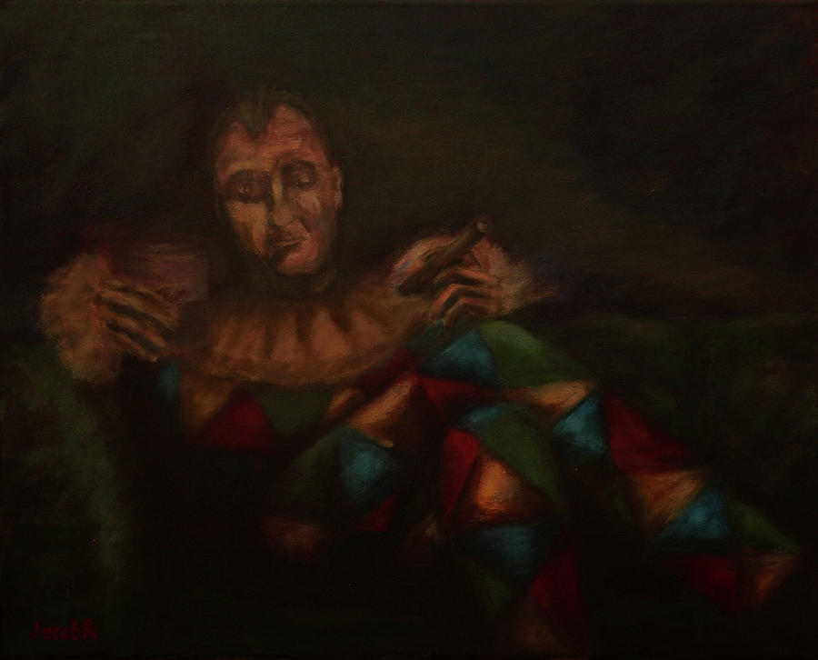 Harlequin Painting - Harlequin by Jacob R