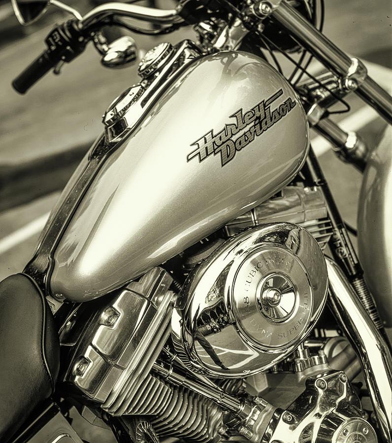 Harley at Bentley's by Samuel M Purvis III
