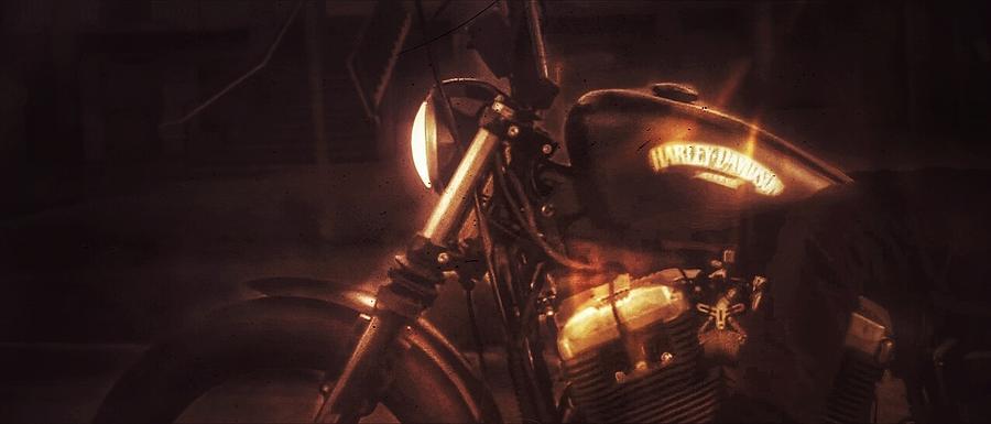 Harley-davidson Photograph - Harley-Davidson by Eddie G