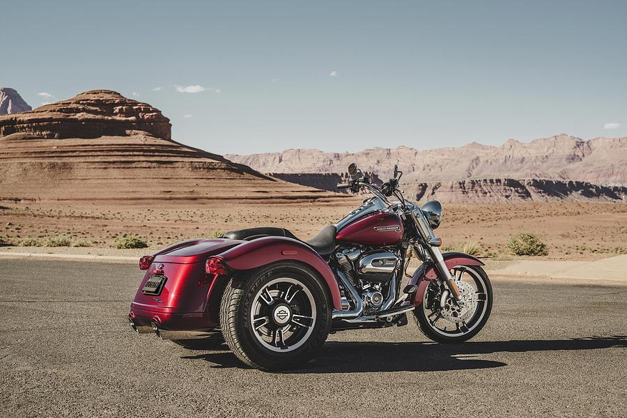 Car Digital Art - Harley-davidson Freewheeler by Super Lovely