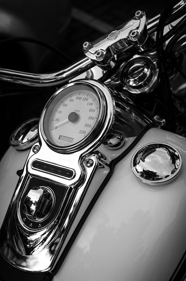 Harley-davidson Photograph - Harley-davidson by Wim Slootweg