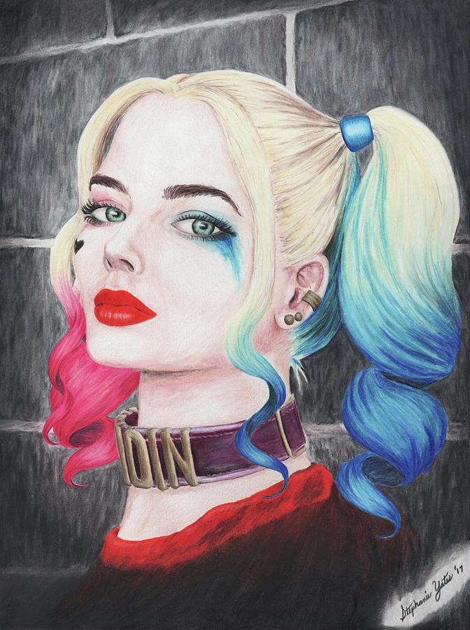 Harley Quinn Drawing: Harley Quinn Drawing By Stephanie Yates