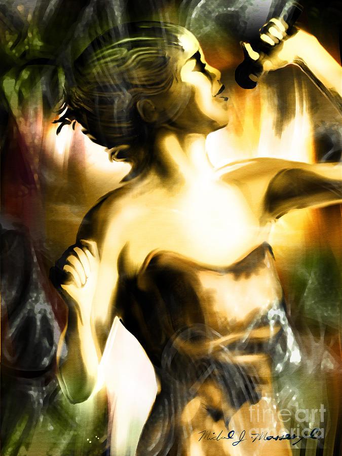 Jazz Artwork Painting - Harmonic by Mike Massengale
