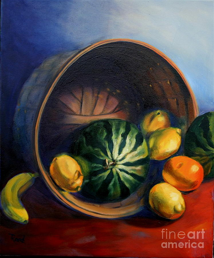 Still Life Painting - Harmony - A by Patricia Reed