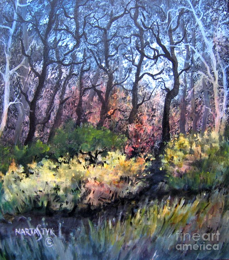 Landscape Painting - Harmony 2 by Marta Styk