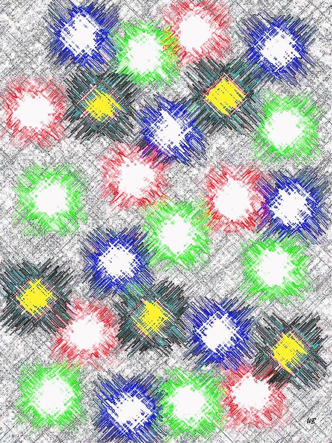 Abstract Digital Art - Harmony 32 by Will Borden