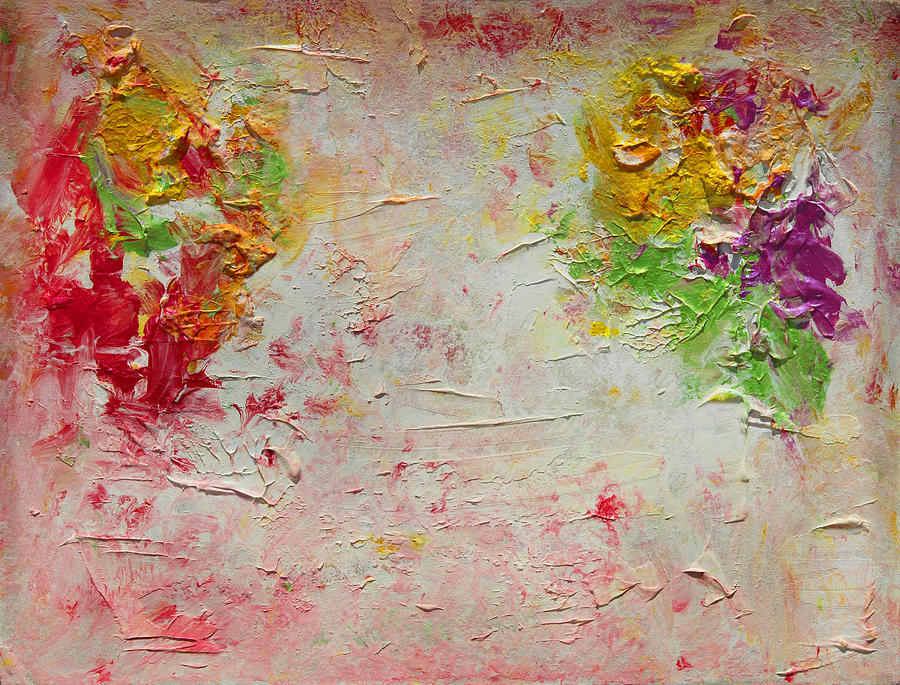 Abstract Painting Painting - Harmony And Balance by Julia Apostolova