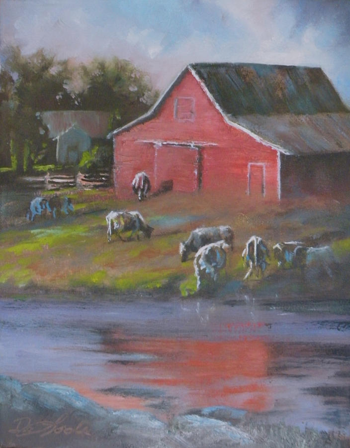 Farms Painting - Harmony by Mia DeLode