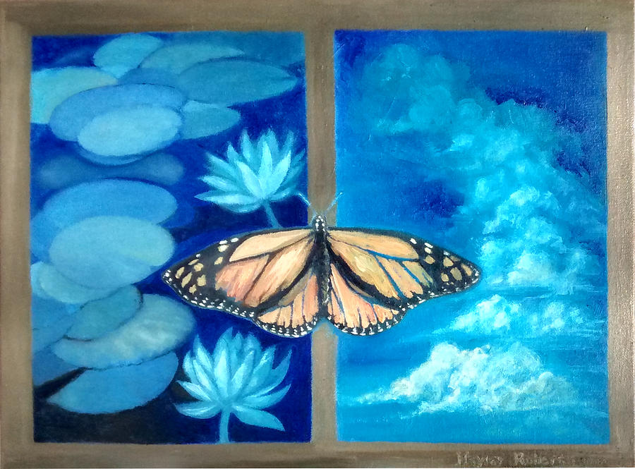 Harmony Perspective  Painting by Hayley Roberts