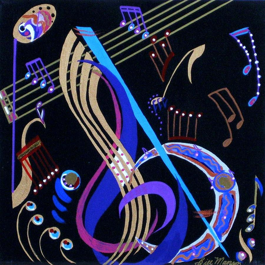 Paintings Painting - Harmony Vi by Bill Manson