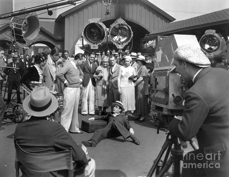 1920s Photograph - Harold Lloyd (1893-1971) by Granger