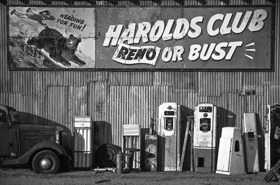 66 Photograph - Harolds Club by Marius Sipa