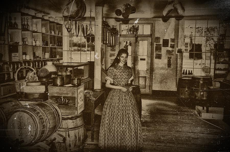 Harpers Ferry Photograph - Harpers Ferry General Store by Bill Cannon