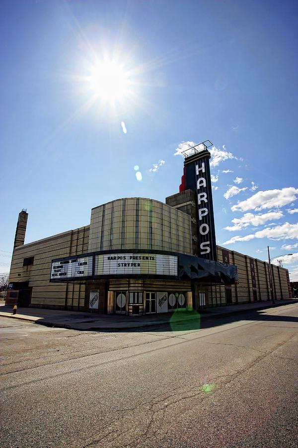 Harpos Photograph - Harpos Concert Theatre - Detroit Michigan by Gordon Dean II