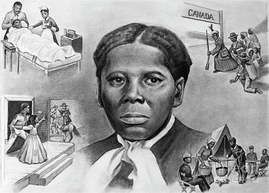 Harriet Tubman Painting - Harriet Tubman by Curtis James