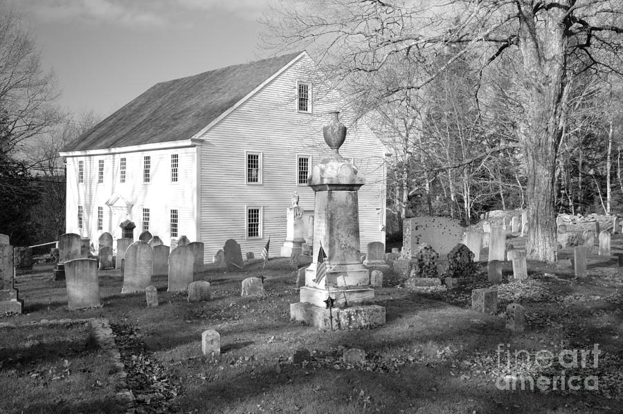 Maine Photograph - Harrington Meetinghouse -bristol Me Usa by Erin Paul Donovan