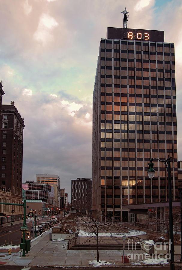 Downtown Photograph - Harrison And Warren Streets by Debra Millet