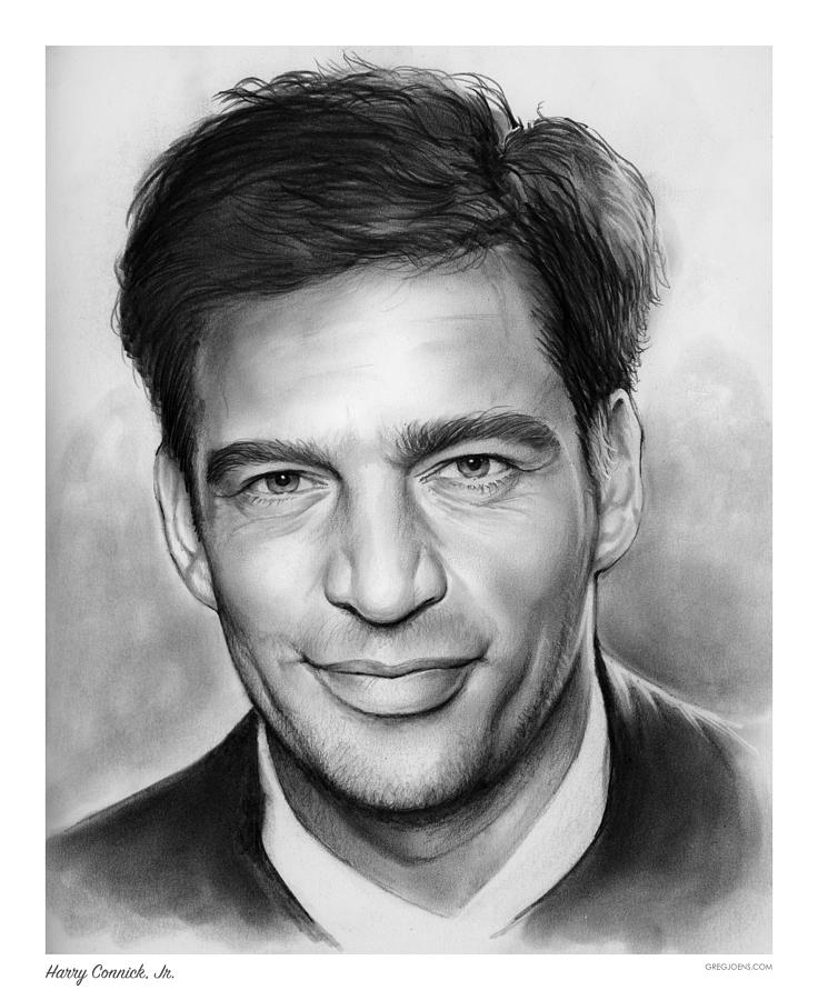 Harry Connick Drawing - Harry Connick, Jr. by Greg Joens