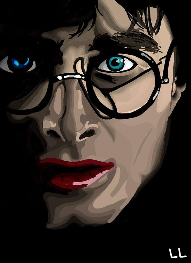 Harry Digital Art - Harry by Lisa Leeman