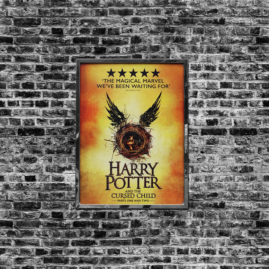 Harry Potter London Theatre Poster Photograph by Mark Rogan