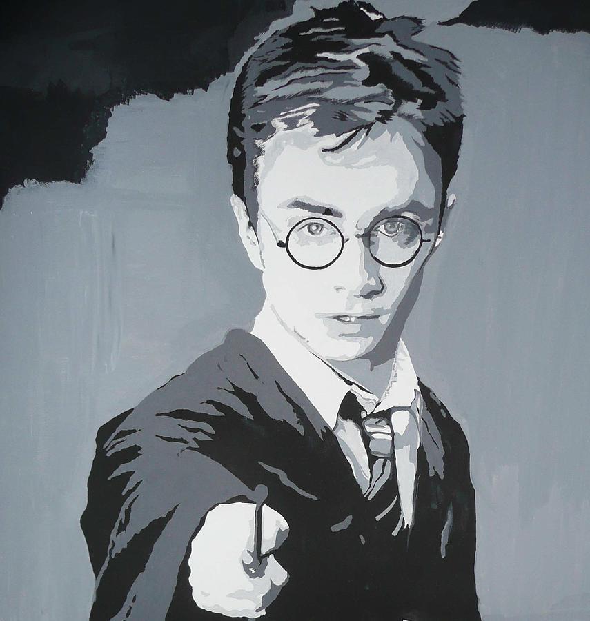 Harry Potter Painting - Harry Potter by Mandy Beatson